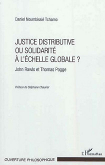 Justice distributive ou solidarité à l'échelle globale ?