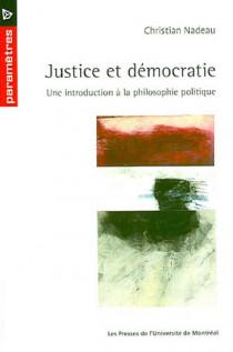 Justice et démocratie