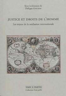 Justice et droits de l'homme