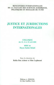 Justice et juridictions internationales
