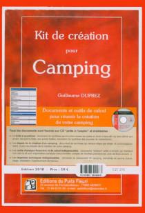 Kit de création pour camping - Edition 2010 (pochette documents + CD-Rom)
