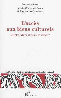 L'accès aux biens culturels