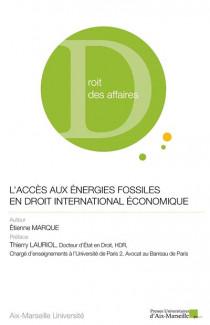 L'accès aux énergies fossiles en droit international économique