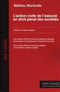 L'action civile de l'associé en droit pénal des sociétés