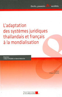 L'adaptation des systèmes juridiques thaïlandais et français à la mondialisation