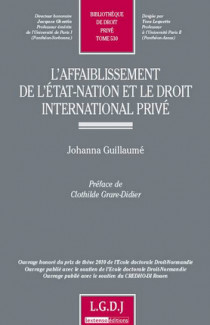 L'affaiblissement de l'État-Nation et le droit international privé