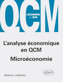 L'analyse économique en QCM - Microéconomie