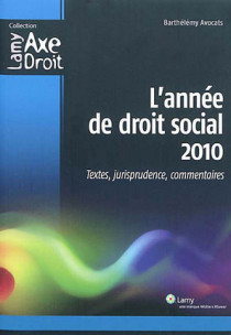 L'année de droit social 2010