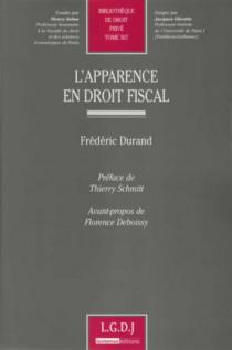 L'apparence en droit fiscal