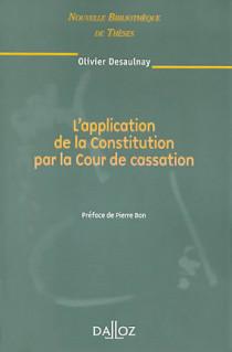 L'application de la Constitution par la Cour de cassation