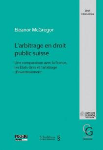 L'arbitrage en droit public suisse