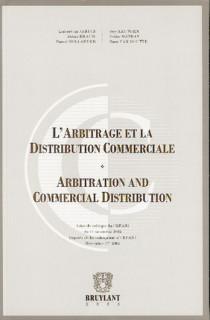 L'arbitrage et la distribution commerciale