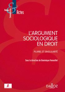 L'argument sociologique en droit