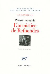 L'armistice des Rethondes