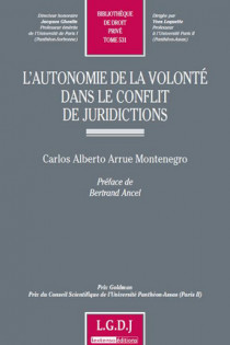 L'autonomie de la volonté dans le conflit de juridictions