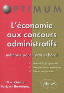 L'économie aux concours administratifs