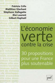 L'économie verte contre la crise
