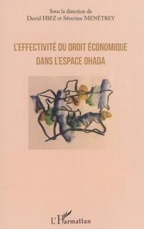 L'effectivité du droit économique dans l'espace OHADA