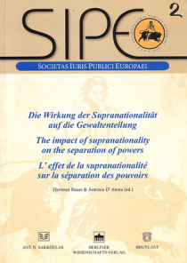 L'effet de supranationalité sur la séparation des pouvoirs N°2