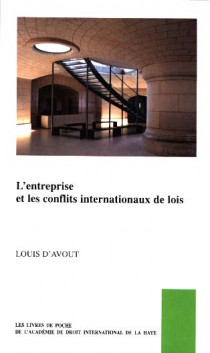 L'entreprise et les conflits internationaux de lois