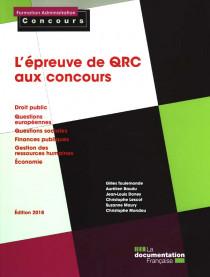 L'épreuve de QRC aux concours - Edition 2018