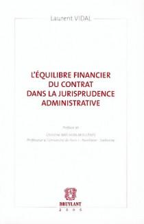 L'équilibre financier du contrat dans la jurisrudence administrative