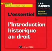 L'essentiel de l'introduction historique au droit [EBOOK]