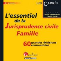 L'essentiel de la jurisprudence civile : famille