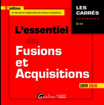 [EBOOK] L'essentiel des fusions et acquisitions