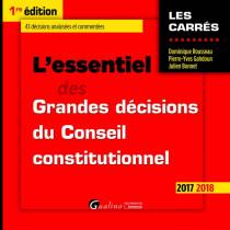[EBOOK] L'essentiel des grandes décisions du Conseil constitutionnel