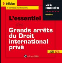 [EBOOK] L'essentiel des grands arrêts du droit international privé