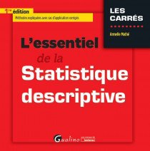 [EBOOK] L'essentiel de la statistique descriptive