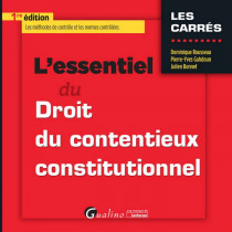 [EBOOK] L'essentiel du contentieux constitutionnel