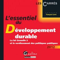L'essentiel du développement durable