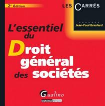 L'essentiel du droit général des sociétés
