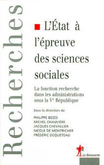 L'Etat à l'épreuve des sciences sociales