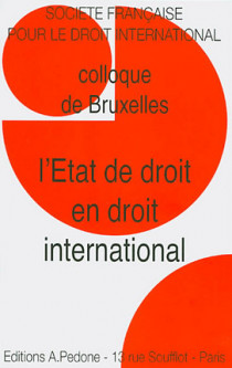 L'Etat de droit en droit international