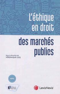 L'éthique en droit des marchés publics