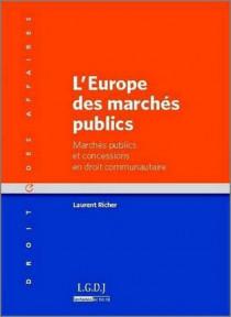 L'Europe des marchés publics