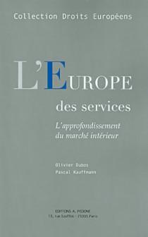 L'Europe des services