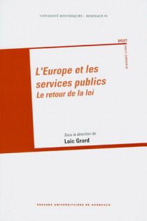 L'Europe et les services publics