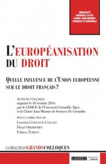 L'européanisation du droit