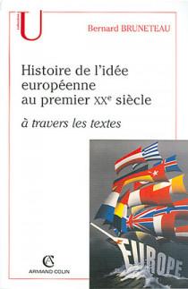 L'histoire de l'idée européenne au premier XXe siècle