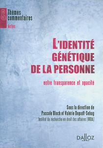 L'identité génétique de la personne