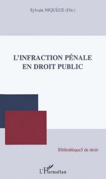 L'infraction pénale en droit public