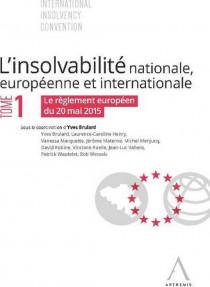 L'insolvabilité nationale, européenne et internationale