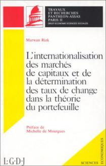 L'internationalisation des marchés de capitaux et de la détermination des taux de change dans la théorie du portefeuille