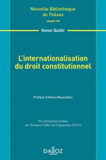 L'internationalisation du droit constitutionnel