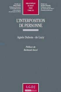 L'interposition de personne