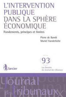 L'intervention publique dans la sphère économique